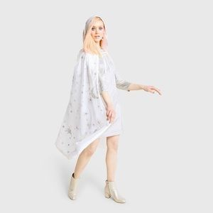 Unicorn Star and moon witch/wizard cape